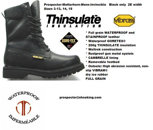 Shoe King Prospector Boots