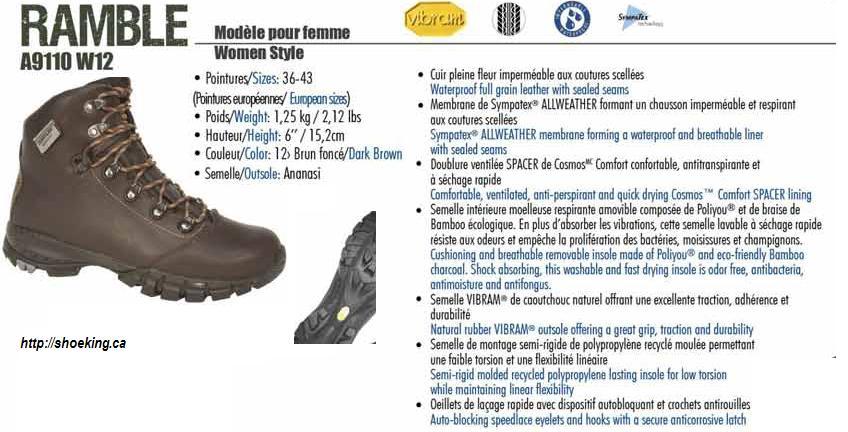 Shoe King Hiking Boots